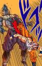 Son Goku Ultra Istinto Completo colpisce Molo