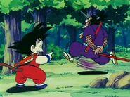 Goku se burla de Murasaki