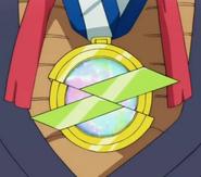 Mr. Satán con la Medalla del Héroe EP15 DBS