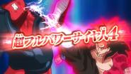 Saiyano 4 al Ultramáximo Poder Rompedor de Límites vs. Janemba Sombrío