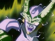 Cell dopo aver assorbito Goku