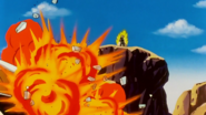 Welcome Back Goku - King Cold's Spaceship Explodes