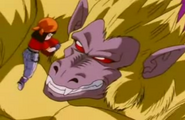 Golden Oozaru and pan