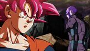 Goku Super Saiyajin Dios y Hit 2
