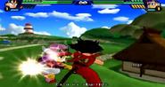 Goku vs Arale BT3