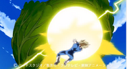 Vegeta Final Flash vs Repollo 2