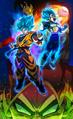 Dragon Ball Super Broly poster sin texto