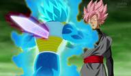 Black Goku vs Vegeta rose .png