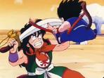 Sabre vs Nyoi-bō.