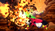 Broly FighterZ lucha