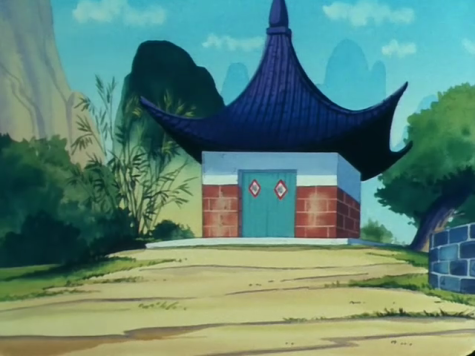 Casa del abuelo Gohan