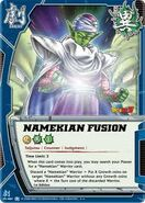 Fusión Namekiana en collectible card game