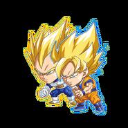 Jumputi Son Goku & Vegeta
