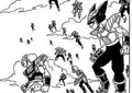 DXRD Caption of Cabira's race & Toobi's race PTO soldiers - Revival of F manga chapter 2