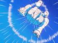 12. Super Sigma hurling in the sky