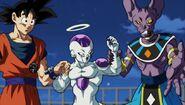 Goku Freezer Beerus círculo