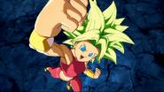 Secuencia de victoria de Kafla en Dragon Ball FighterZ