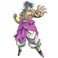 Broly SS Tipo A SDBHWM