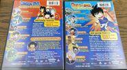 The Saga of Goku DVD - Individual Backs