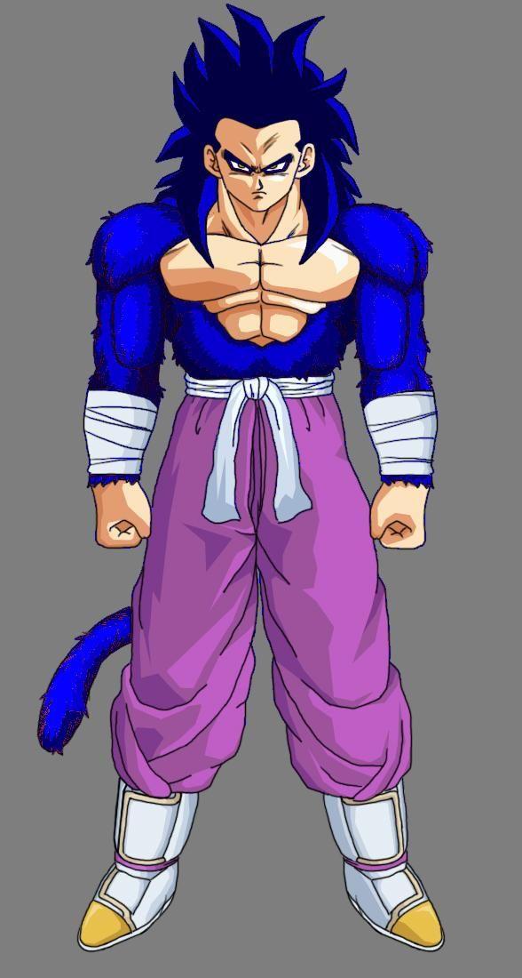 Super Saiyan 8 ( Geku's version )