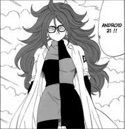 Xeno Android 21 manga