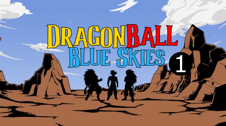 Dragon Ball Blue Skies; Chapter 1, What a lovely sky!