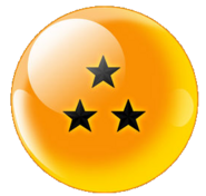 Three-Star Black Star Dragonball (Xz)