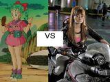 Bulma vs. Emmy Rossum's Bulma (ERB)