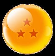 Three-Star Red Star Dragonball (Xz)