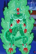 Dial s emerald 4th transformation by darkhameleon