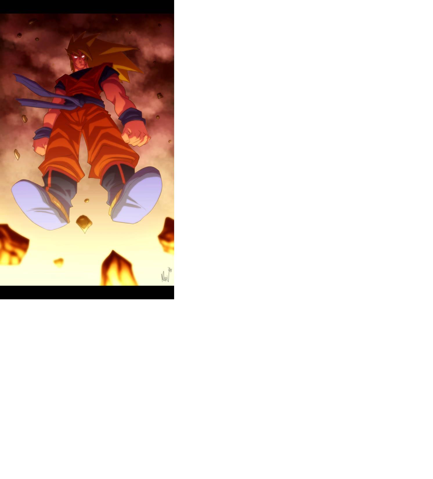 Retro Super Saiyan