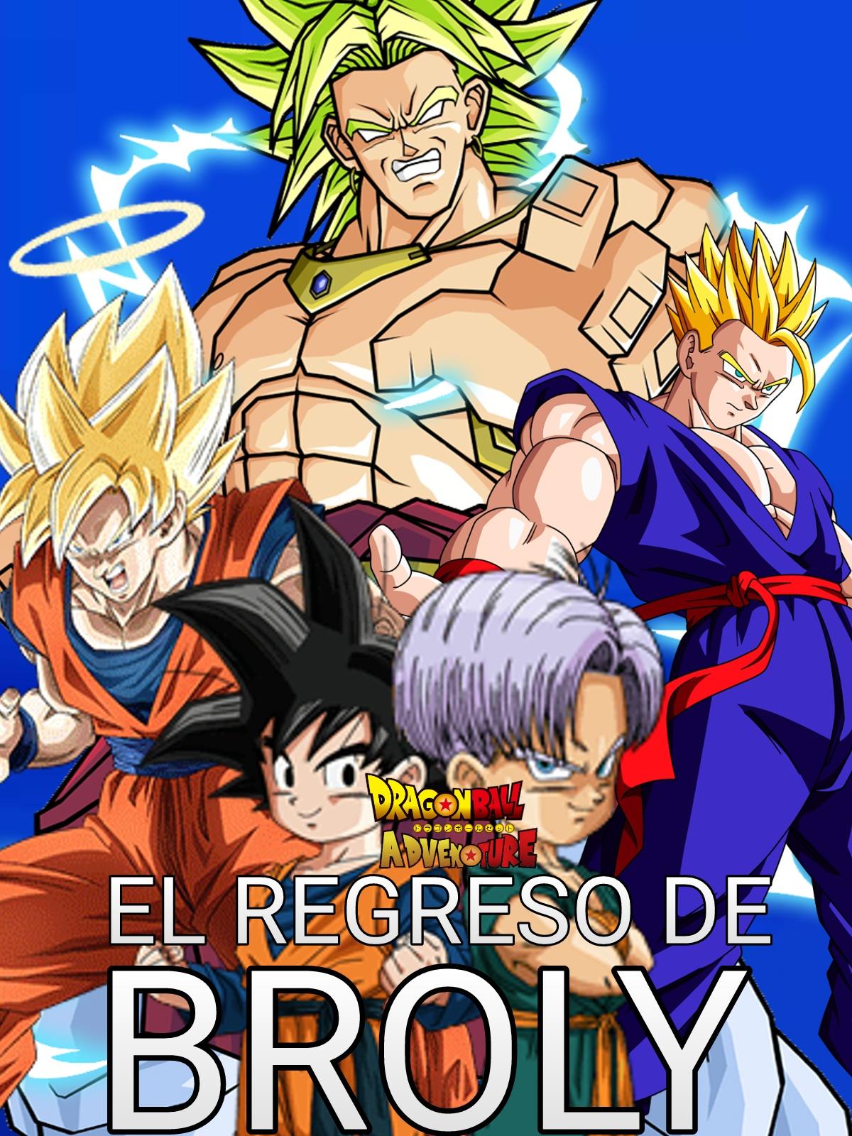 El Regreso De Broly Dba Dragon Ball Fanon Wiki Fandom