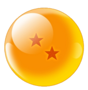 Two-Star Red Star Dragonball (Xz)