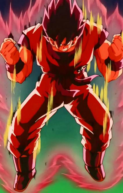 Kaioken Super Saiyan