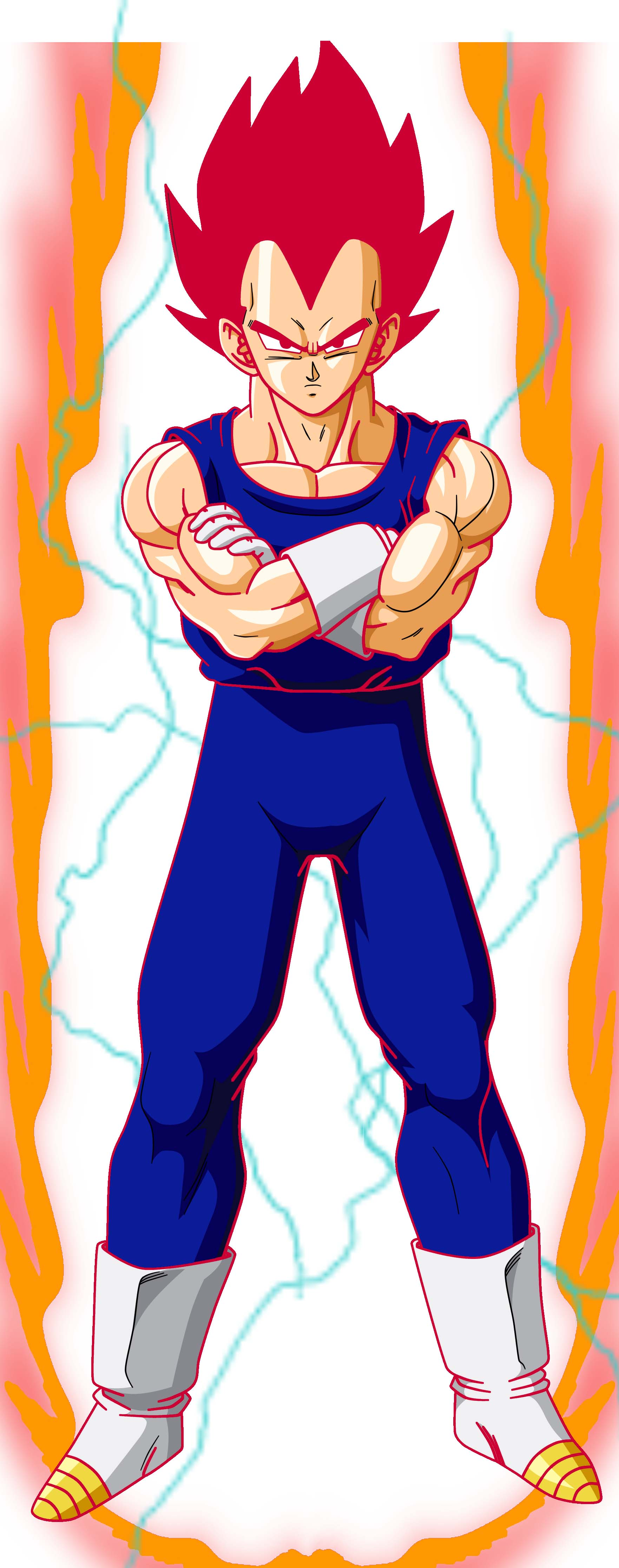 Super Saiyan God 2 Vegeta