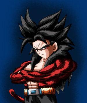 Super Saiyan 4 Goten Dragonball Fanon Wiki Fandom