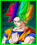 Rainbow Super Saiyan
