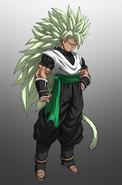 Atzuma Legendary Super Saiyan 3