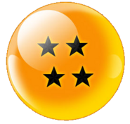 Four-Star Black Star Dragonball (Xz)
