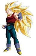 Super Saiyan 3 Vegeta (Xz)