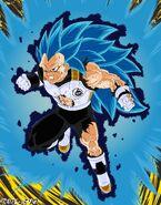 Super Saiyan Blue Evil Aura 3 Vegeta by Malik DBNA