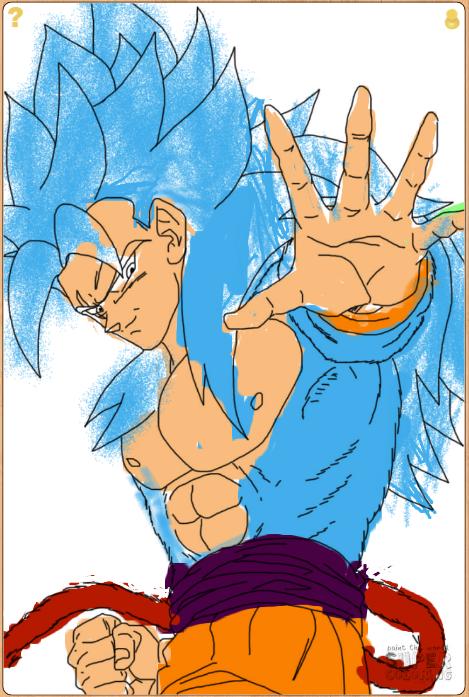 Super Saiyan Blue 4