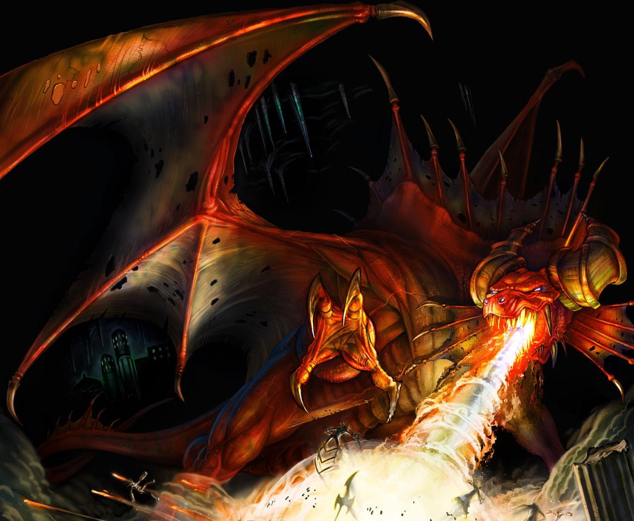 Finterno the Fire Dragon