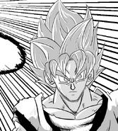 Goku in Blancoverse