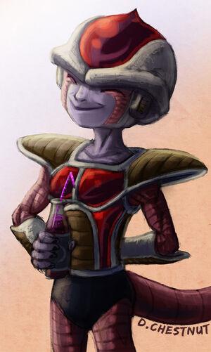 Kuriza, drawn by DeadlyChesnut