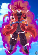Super Saiyan God 2 goku
