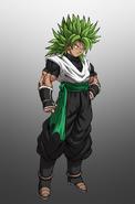 Atzuma C-Type legendary Super Saiyan