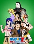 Dragon Ball Z Elsewhere Title Page