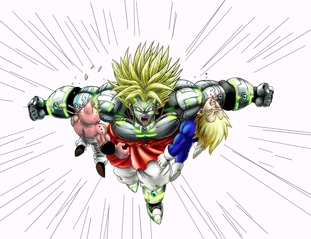 Broly the third coming!