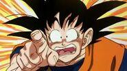 Goku surprised